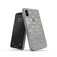 Thumbnail of adidas OR Snap case ENTRY SS19 for iPhone X/Xs gold colored