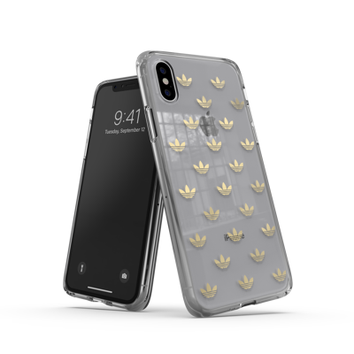 Afbeelding van adidas OR Snap case ENTRY SS19 for iPhone X/Xs gold colored