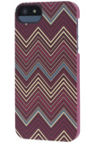 Afbeelding vanApple iPhone SE / 5S 5 Hoesje Griffin Rood Backcover Chevron