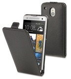 Afbeelding vanMuvit Slim Flip Case Black voor HTC One Mini