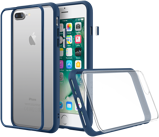 Afbeelding vanApple iPhone 8 Plus / 7 Hoesje Rhinoshield Blauw Backcover Bumper Extreme case MOD NX Crash Guard