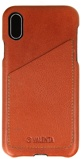 Afbeelding vanApple iPhone X Xs Hoesje Valenta Bruin Backcover Cover Classic