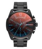 Afbeelding vanDiesel Mega Chief DZ4318 herenhorloge herenhorloge horloge Zwart