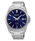 Afbeelding vanSeiko SGEH47P1 herenhorloge blauw edelstaal