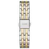 Afbeelding vanCLUSE CS1401101077 Horlogeband staal zilver en goudkleurig 16 mm