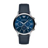 Afbeelding vanEmporio Armani AR11226 Giovanni herenhorloge blauw edelstaal