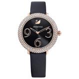 Afbeelding vanSwarovski 5484058 - Crystal Frost - Horloge dameshorloge horloge Rosekleur,Zwart
