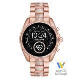 Afbeelding vanMichael Kors MKT5089 - Bradshaw - Gen5 - Smartwatch dameshorloge horloge Rosekleurig