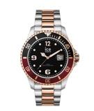 Afbeelding vanICE Watch IW016548 Steel Chic Silver Rosé horloge Large herenhorloge Meerkleurig