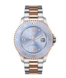 Afbeelding vanICE Watch IW016770 Steel Sky Silver Rosé horloge Medium dameshorloge Meerkleurig