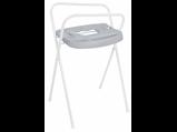 Afbeelding vanBebe Jou Badstandaard Click 98 cm Licht Grijs Babybad accessoires
