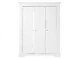 Afbeelding vanBopita 3 deurs kledingkast Narbonne wit