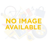 Afbeelding vanLabeltape Dymo Rhino 18443 vinyl 9mmx5.5m zwart op wit Labeltapes
