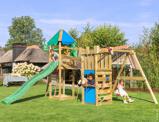 Abbildung vonJungle Gym Holz Spielturm Explorer 1 Swing