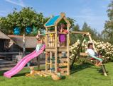 Image of Jungle Gym Aire de Jeux en Bois Petit Jardin Nomad 1 Swing