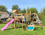 Image of Jungle Gym Childrens Climbing Frame Voyager 1 Swing
