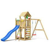 Imagine dinChildrens Climbing Frame Safari 1 Swing