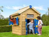Imagine dinChildrens Wooden Playhouses Jungle Playhouse