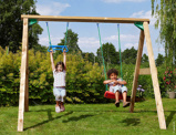 Imagine dinChildrens Garden Swing Jungle Swing 250 cm