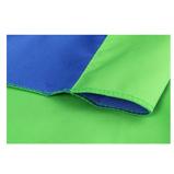 Afbeelding vanStudioKing dubbelzijdig achtergronddoek (Kleur: groen/blauw)