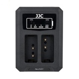 Afbeelding vanJJC DCH LPE17 USB Dual Battery Charger (voor Canon LP/E17 accu)