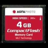 Afbeelding vanAgfaPhoto Compact Flash 4GB High Speed 120x MLC