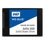 "Afbeelding vanWestern Digital SSD 500GB 2,5"" SATA3 3D 560/530mb/s zwart"