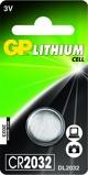 Afbeelding vanGP Lithium knoopcel CR2032, blister 1