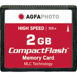 Afbeelding vanAgfaphoto Compact Flash 2GB High Speed 300x MLC