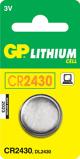 Afbeelding vanGP knoopcel lithium CR2430