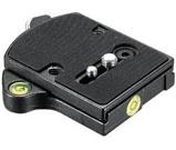 """Afbeelding vanManfrotto 394 Quick Adaptor """"Low Profile"""" Zwart tripod"""