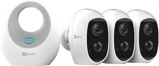 Afbeelding vanEZVIZ C3A Draadloze Camera 3 pack met W2D Basisstation Binnencamera's