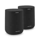 Afbeelding vanHarman Kardon Citation ONE MK2 Duo Pack Zwart wifi speaker