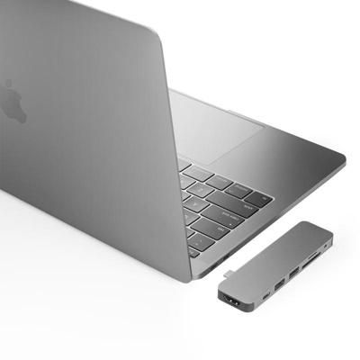Afbeelding van Hyper Solo hub for Macbook & USB C devices Silver
