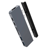 Afbeelding vanHyper HyperDrive New Duo hub for USB C Space Gray