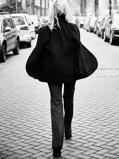 Abbildung vonLaDress Siena ausgestelltes jersey lycra leggings schwarz