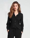 Abbildung vonLaDress Annie bluse aus jersey lycra schwarz