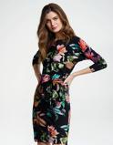 Abbildung vonLaDress Dress Multi color Caroline Travel Jersey Floral Printed