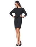 Abbildung vonLaDress Tunic Dress Carla Travel Jersey in Black