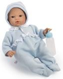 Billede afASI Koke babydreng 36 cm Med varm heldragt og sutteflaske