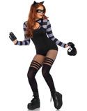 """Bilde av""""Cat Burglar Damekostyme 4 Deler"""""""