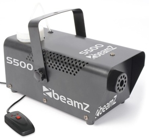 Afbeelding van 2e keus BeamZ S500 kleine Rookmachine met Rookvloeistof