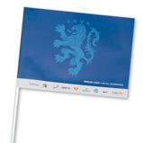 Abbildung von1000 St. Event Fähnchen bedrucken Papier Fullcolor ab 9 Tagen
