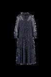 Image deFSTVL by MS Mode Mesdames Robe chemise à imprimé Violet