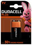 Afbeelding vanBatterij Duracell Plus Power 1x9Volt MN1604 Staaf En Blokbatterijen