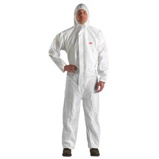 Afbeelding van3m beschermende overall 4510 , wit, 4xl