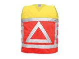 Afbeelding vanM Wear 0125 Verkeersregelaarsvest Fluo Oranje/fluo Geel XL/XXL Verkeersvesten