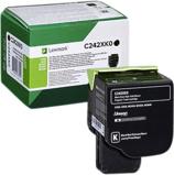 Afbeelding vanLexmark C242XK0 Toner Zwart Extra hoge capaciteit