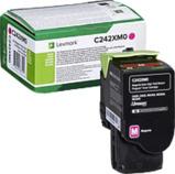 Afbeelding vanLexmark C242XM0 Toner Magenta Extra hoge capaciteit