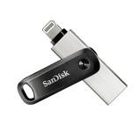 Afbeelding vanSanDisk iXpand GO Flash drive 3.0 128GB USB stick